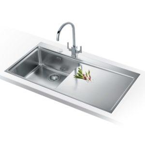 Franke MYTHOS SLIM-TOP MMX211 RHD Mythos Sink Right Hand Drainer – STAINLESS STEEL