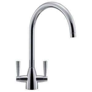 Quooker PRO7 FUSION SQUARE CHROME 7FSCHR Square Fusion 3-in1 Boiling Water Tap 7L Tank – CHROME