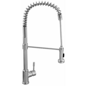 Franke SWISS PRO PULL-OUT SPRAY SS Swiss Pro Pull-Out Spray Tap - STAINLESS STEEL