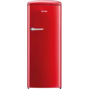 Gorenje ORB153RD 60cm Freestanding Retro Fridge With Ice Box - RED