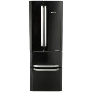 Hotpoint FFU4DK 70cm Frost Free Fridge Freezer – BLACK