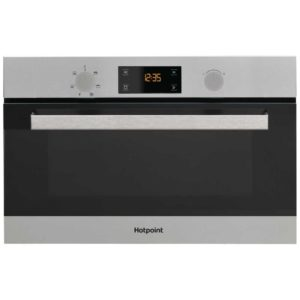 Hotpoint MD344IXH Class 3 Built In Microwave & Grill For Tall Housing – STAINLESS STEEL