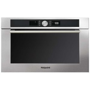 Hotpoint MD454IXH 60cm Built-in Microwave & Grill For Tall Housing – STAINLESS STEEL
