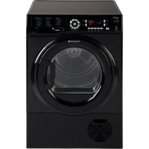 Hotpoint SUTCD97B6KM 9kg Ultima S-Line Condenser Tumble Dryer - BLACK