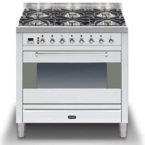Ilve P-906-MP-SS 90cm Moderna Dual Fuel Range Cooker – STAINLESS STEEL