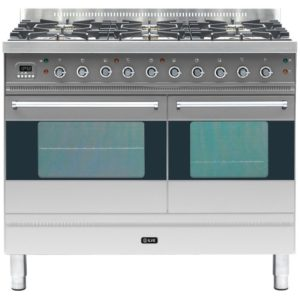 Ilve PD-1006-MP-SS 100cm Moderna Dual Fuel Range Cooker - STAINLESS STEEL