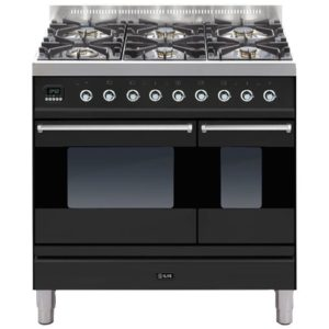 Ilve PD-906-MP-GRA 90cm Moderna Dual Fuel Range Cooker – GRAPHITE