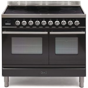 Ilve PDWI-100-E3-BLK 100cm Roma Induction Range Cooker – BLACK