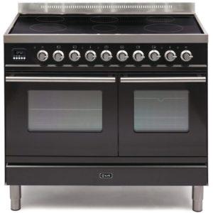 Ilve PDWI-100-E3-BLK 100cm Roma Induction Range Cooker – BLACK