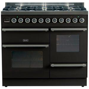 Ilve PTW-1006-E3-BLK 100cm Roma XG Dual Fuel Range Cooker – BLACK