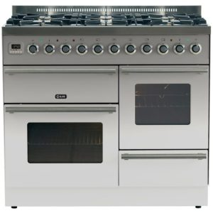 3ffa5122d8 Ilve PTW-1006-E3-SS 100cm Roma XG Dual Fuel Range Cooker –
