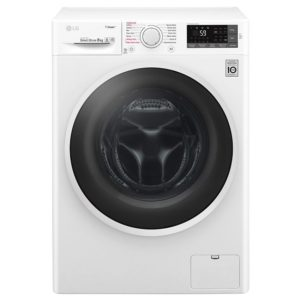 LG F4J6TY0WW 8kg Direct Drive Steam Washing Machine 1400rpm – WHITE