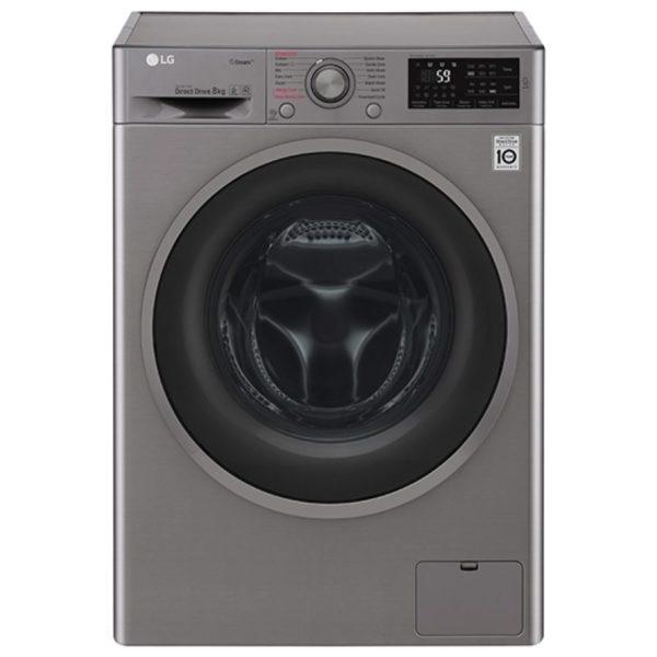 lg f4j6ty8s 8kg direct drive steam washing machine 1400rpm graphite appliance city. Black Bedroom Furniture Sets. Home Design Ideas