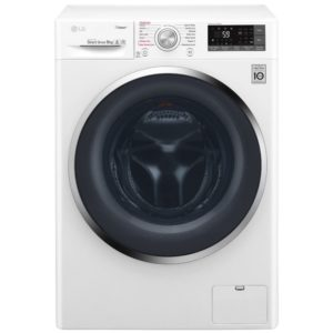 LG F4J6VY2W 9kg Direct Drive Steam Washing Machine 1400rpm - WHITE