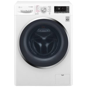 LG F4J8JS2W 10kg Direct Drive TrueSteam Turbowash Washing Machine 1400rpm – WHITE