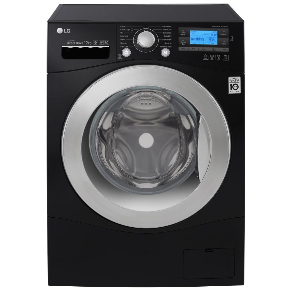 Lg Fh495bdn8 12kg Direct Drive Turbowash Washing Machine