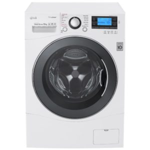 LG FH495BDS2 12kg Direct Drive Steam Washing Machine 1400rpm - WHITE