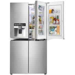 LG GMJ916NSHV Door In Door French Style Fridge Freezer - STAINLESS STEEL
