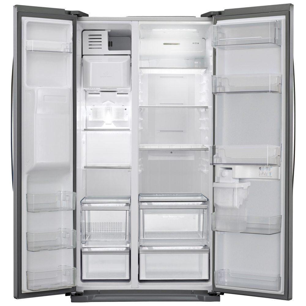 American Fridge Freezer Plumbed: LG GSL325NSYV American Fridge Freezer Non Plumbed Ice
