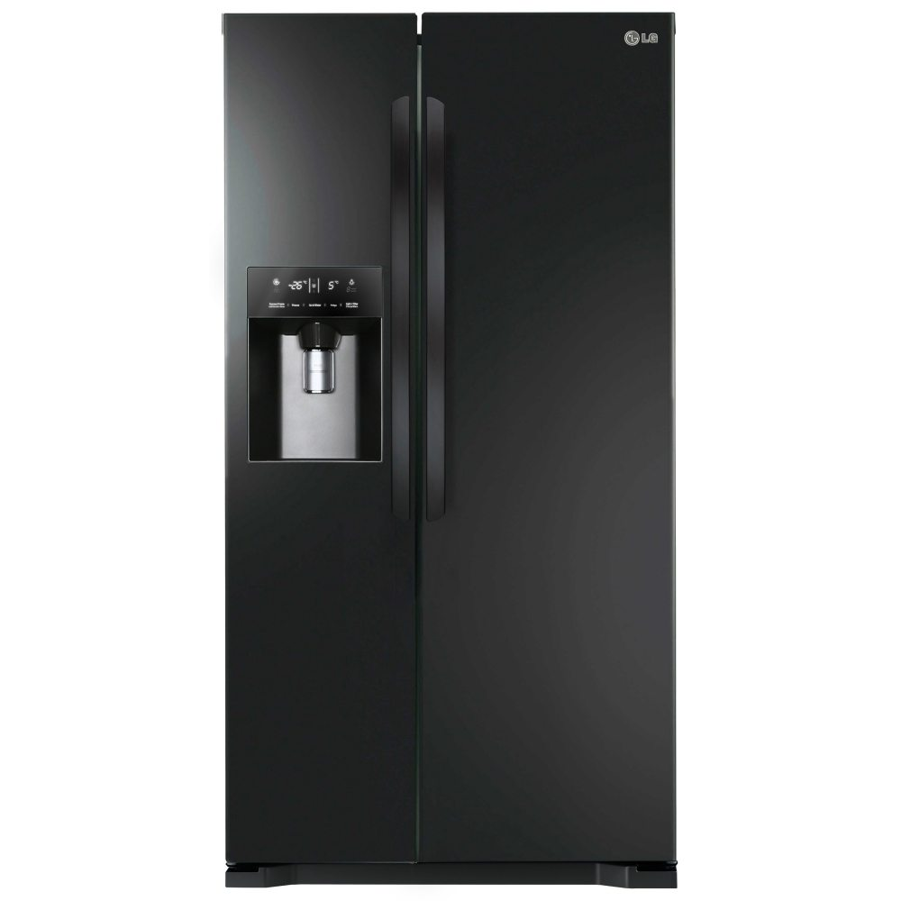 lg gsl325wbqv american style fridge freezer with ice water appliance city. Black Bedroom Furniture Sets. Home Design Ideas