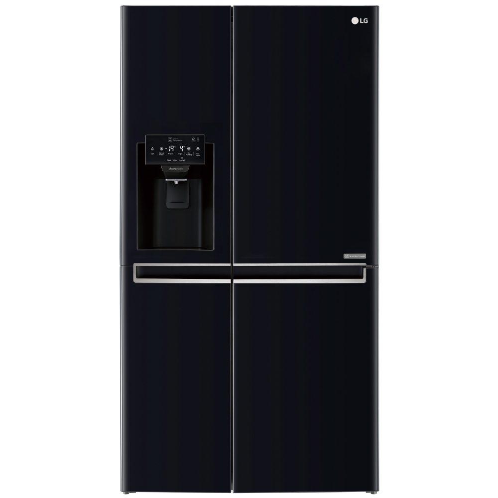 American Fridge Freezer Plumbed: LG GSL761WBXV American Style Fridge Freezer With Non