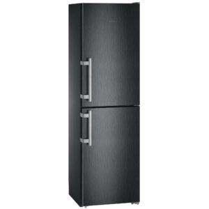 Liebherr CNBS3915 60cm Frost Free Fridge Freezer – BLACK STEEL
