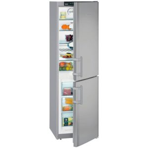 Liebherr CNSL3033 55cm Frost Free Fridge Freezer - SILVER