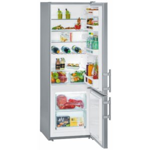 Liebherr CUEF2811 55cm Fridge Freezer - STAINLESS STEEL