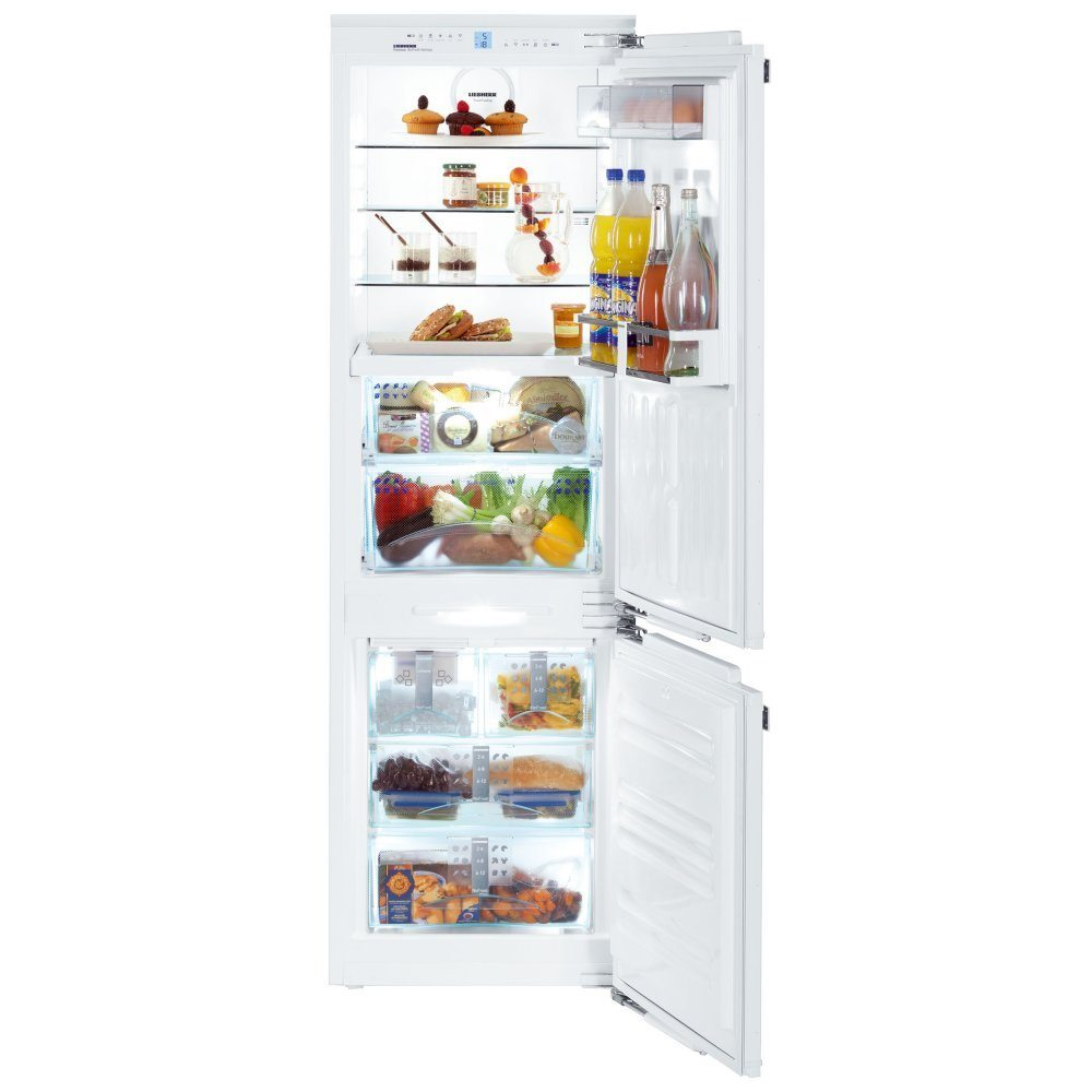 liebherr icbn3366 178cm integrated biofresh fridge freezer with icemaker appliance city. Black Bedroom Furniture Sets. Home Design Ideas