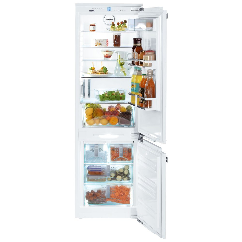 liebherr icn3366 178cm integrated frost free fridge freezer with icemaker appliance city