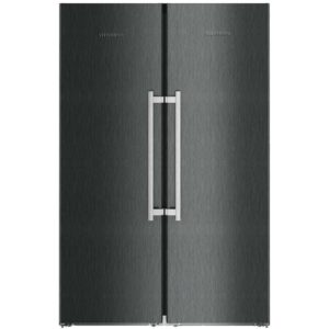 Liebherr SBSBS8673 121cm Side By Side Biofresh & Icemaker – BLACK STEEL