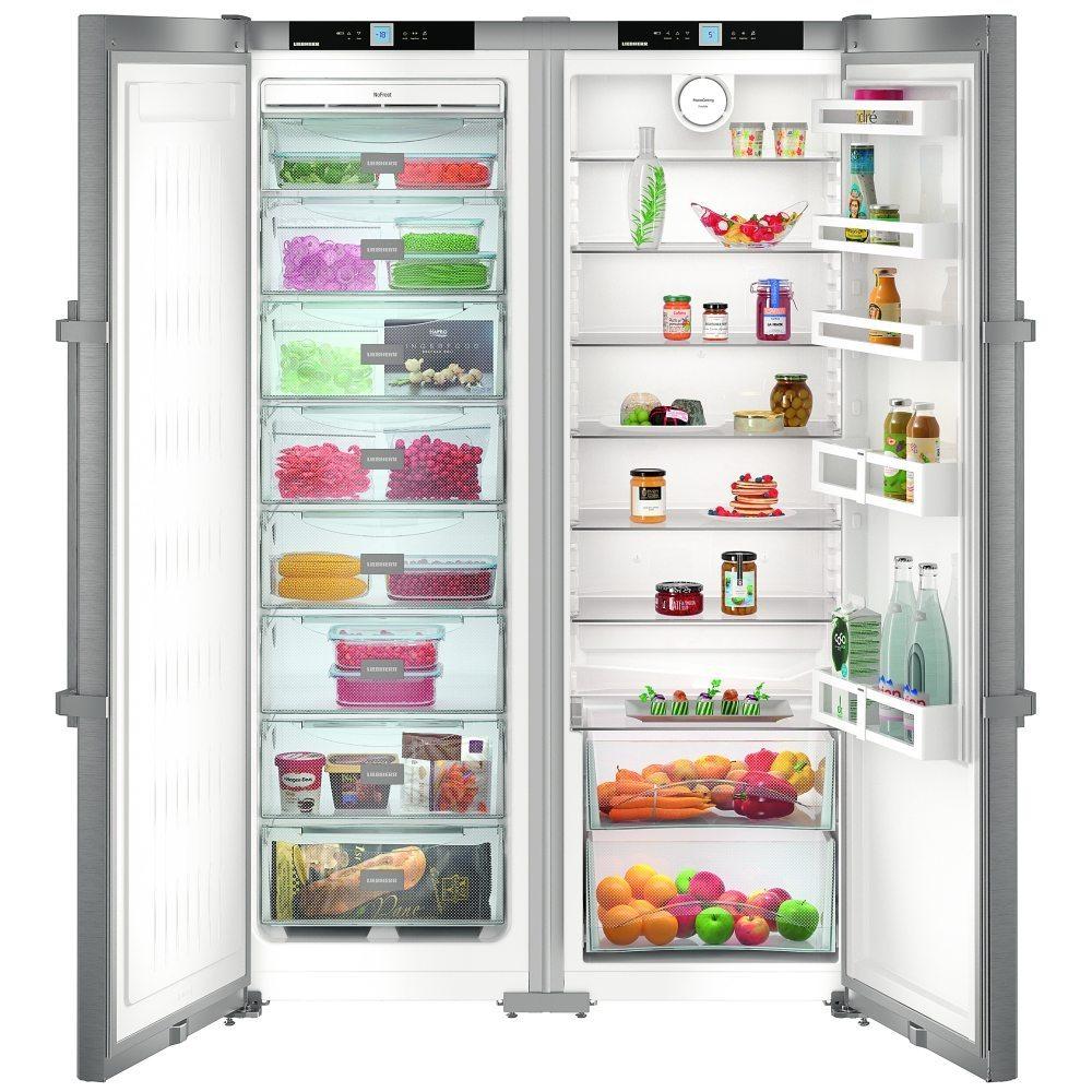 liebherr sbsef7242 121cm side by side fridge freezer appliance city. Black Bedroom Furniture Sets. Home Design Ideas