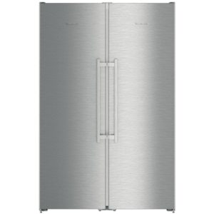 Liebherr SBSEF7242 121cm Side By Side Fridge Freezer – STAINLESS STEEL - STAINLESS STEEL