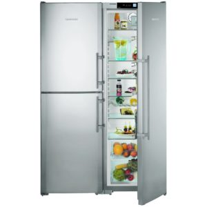 Liebherr SBSES7353 121cm Side By Side With Biofresh & Icemaker - STAINLESS STEEL