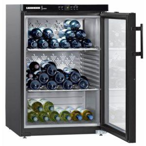 Liebherr WKB1812 60cm Freestanding Vinothek Wine Cooler – BLACK