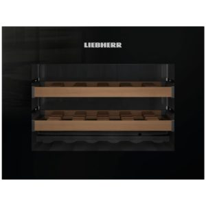 Liebherr WKEGB582 45cm Integrated Grand Cru Wine Cooler – BLACK