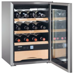 Liebherr WKES653 43cm Freestanding Grand Cru Wine Cooler - STAINLESS STEEL