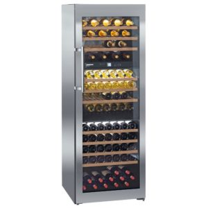 Liebherr WTES5872 70cm Freestanding Vinidor Triple Zone Wine Cooler – STAINLESS STEEL