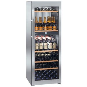 Liebherr WTPES5972 70cm Freestanding Vinidor Dual Zone Wine Cooler - STAINLESS STEEL