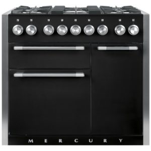 Mercury MCY1000DFLQ 93120 100cm Dual Fuel Range Cooker – LIQUORICE