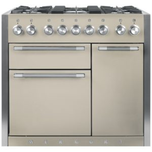 Mercury MCY1000DFOY 93180 100cm Dual Fuel Range Cooker – OYSTER