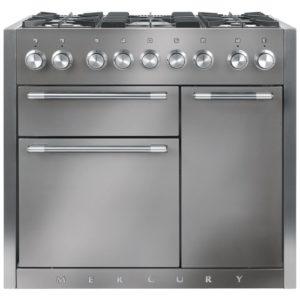 Mercury MCY1000DFSS 93110 100cm Dual Fuel Range Cooker – STAINLESS STEEL