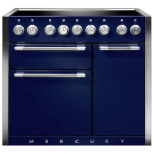 Mercury MCY1000EIBB 100cm Induction Range Cooker – BLUEBERRY