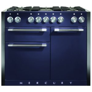 Mercury MCY1082DFBB 1082mm Dual Fuel Range Cooker – BLUEBERRY