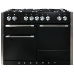 Mercury MCY1200DFAB 92950 120cm Dual Fuel Range Cooker – BLACK
