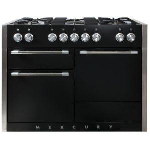 Mercury MCY1200DFLQ 92940 120cm Dual Fuel Range Cooker – LIQUORICE