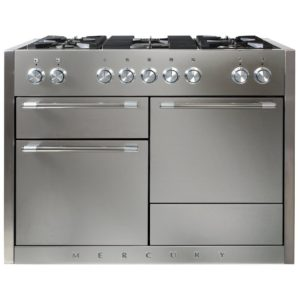 Mercury MCY1200DFSS 91570 120cm Dual Fuel Range Cooker – STAINLESS STEEL