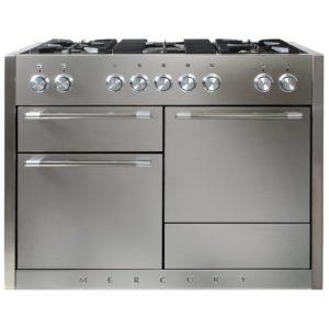 Mercury MCY1200DFSS 91570 120cm Dual Fuel Range Cooker – STAINLESS STEEL