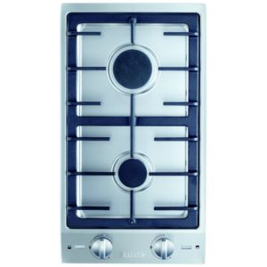 Miele CS1012-1G Domino 2 Burner Gas Hob – STAINLESS STEEL