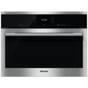 Miele DGC6500XLCLST 60cm Built In Compact Steam Combination Oven – STAINLESS STEEL